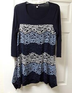 Tula blue dress
